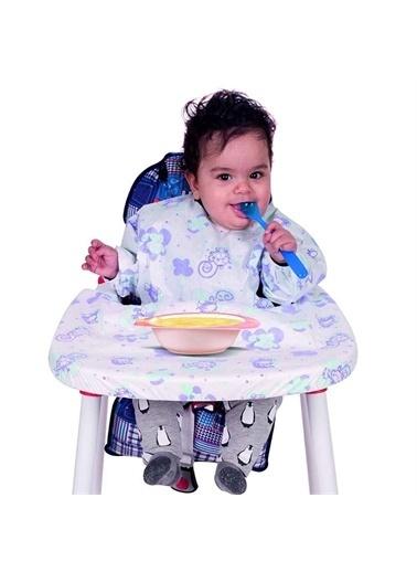 Sevi Bebe Sevi Bebe 264 Kullan At Kollu Mama Sandalyesi Önlügü 5'li Renkli